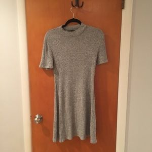 Dresses & Skirts - Grey sweater dress from F21